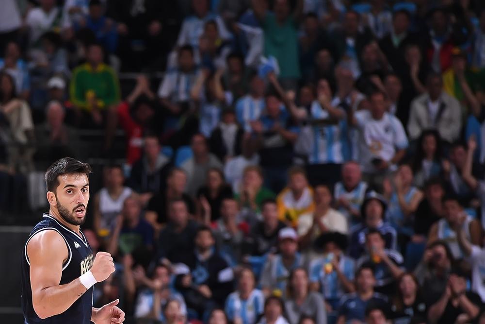 Facundo Campazzo fue el base titular del equipo. (Foto: FIBA)