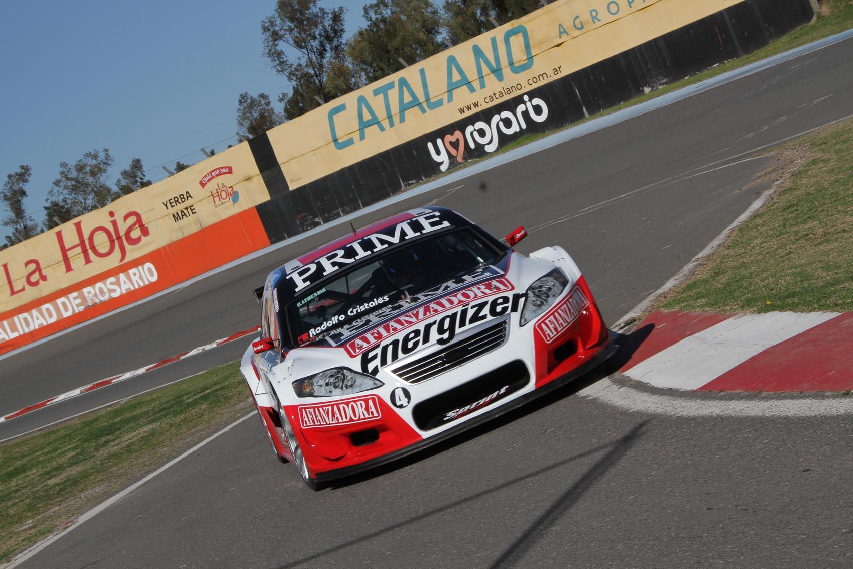 Christian Ledesma sumó su primer podio en el regreso a la categoría. (Foto: Prensa Top Race)