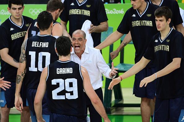 Sergio Hernández y Patricio Garino contarán mañana su experiencia olímpica. (Foto: EMMANUEL DUNAND/AFP/Getty Images)