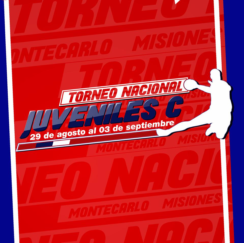 El afiche oficial del Nacional de Juveniles.