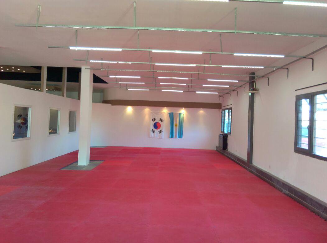 El multiespacio instalado en la sede de River.