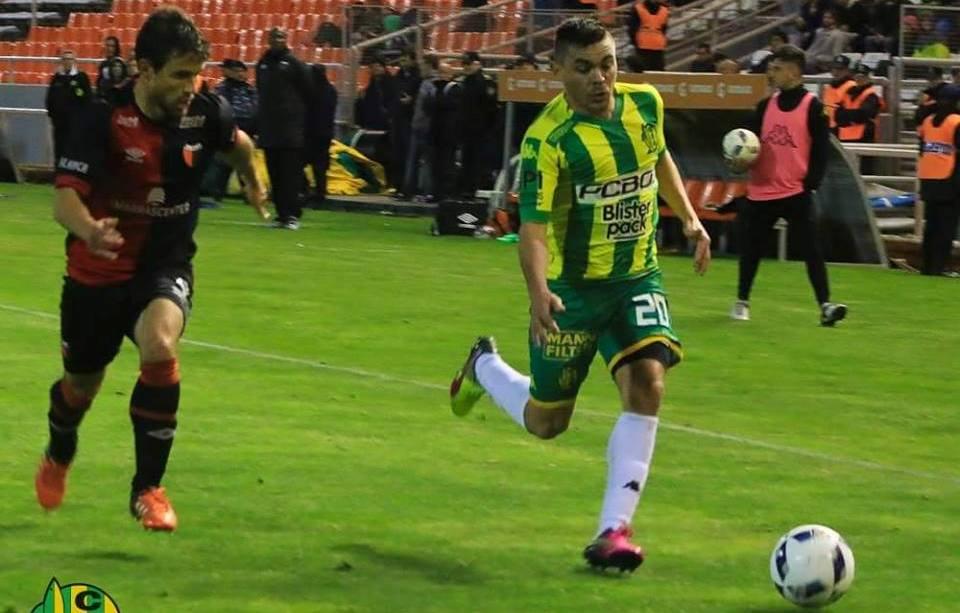 Antonio Medina tuvo un buen primer tiempo. (Foto: Sergio Biale - Club Aldosivi)