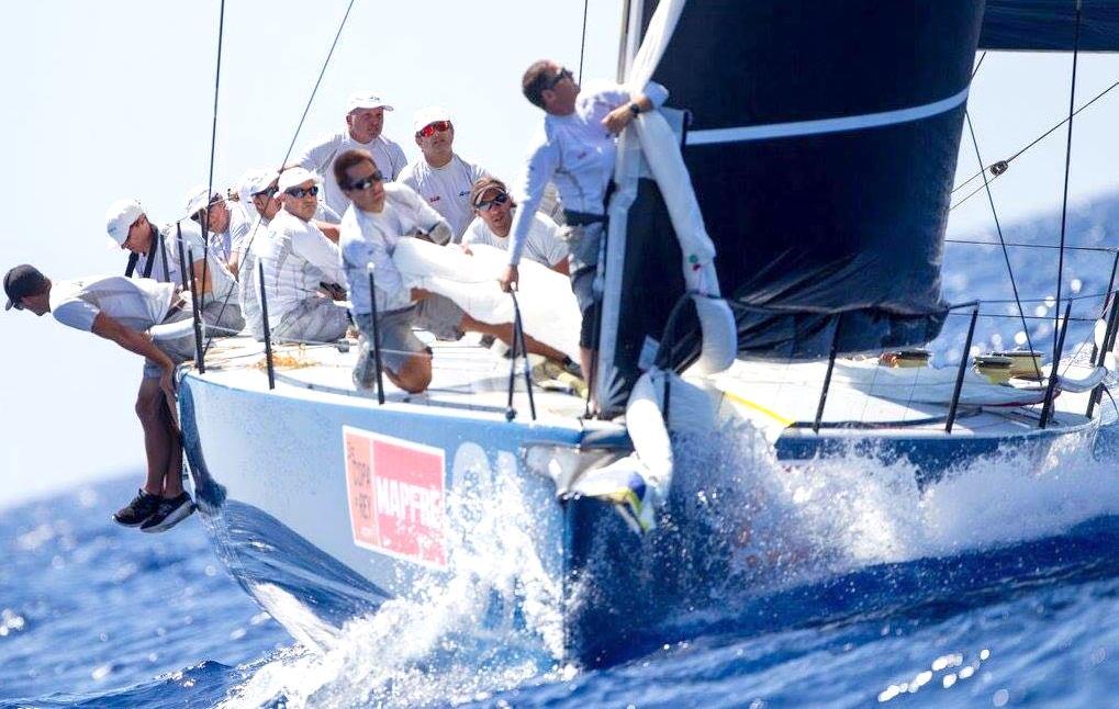 La embarcación que ganó la Copa del Rey.