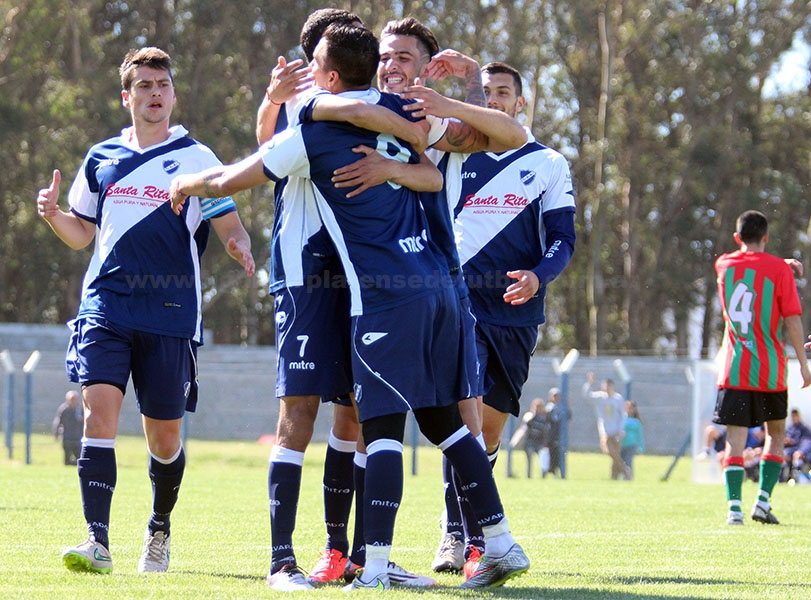 Alvarado goleó en el inicio del Clausura. (Foto: Diego Berrutti)