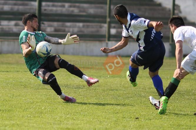 Alvarado empató en Pico. (Foto: Pampa Deportiva)