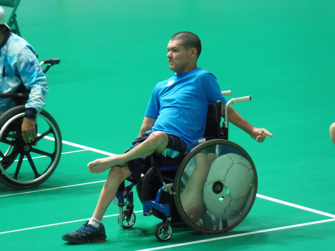 Mauricio Ibarbure en su debut en Río. (Foto: Prensa EMDER)