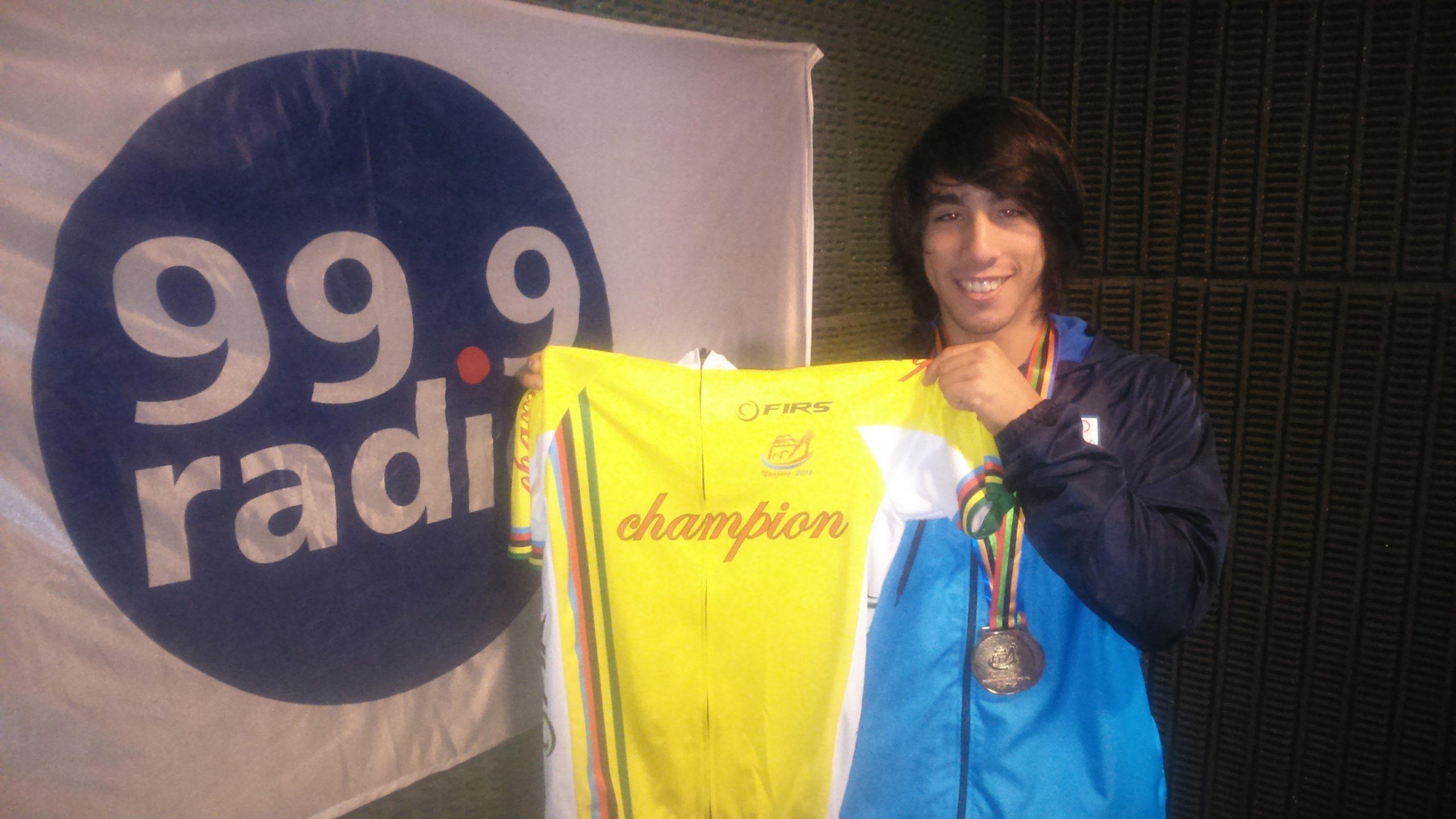 Ken Kuwada en su visita a Marca Deportiva Radio.