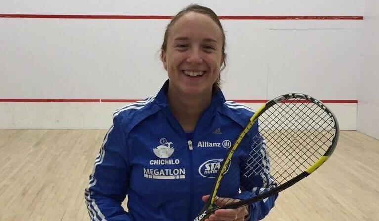 Antonella Falcione fue sub-campeona en Paraguay.