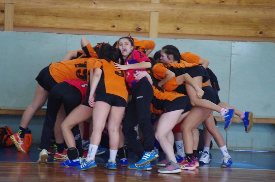 Handballa Norte se quedó con una de las plazas de ascenso. (Foto: CAH)