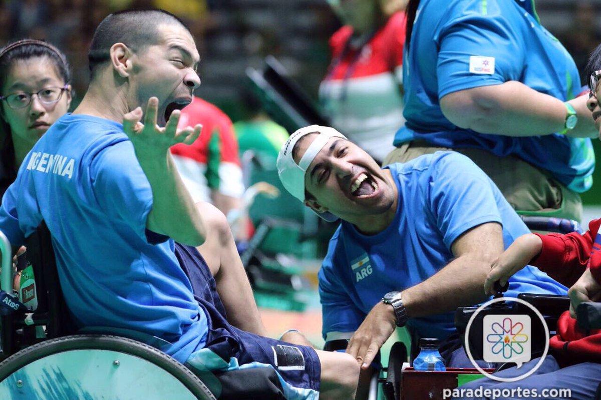 Ibarbure celebrando el histórico pasaje a semifinales. (Foto: Para Deportes)