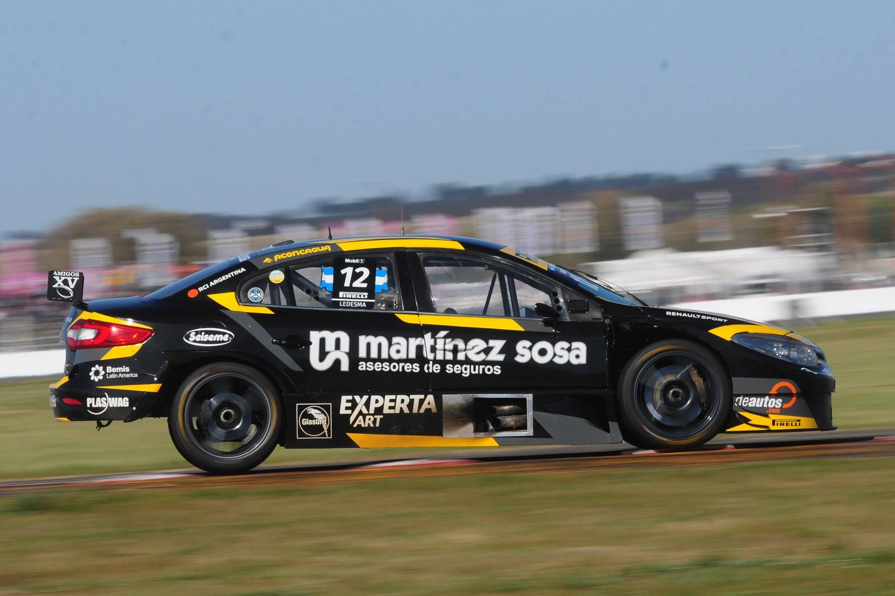Christian Ledesma terminó la clasificación en el 3º puesto.