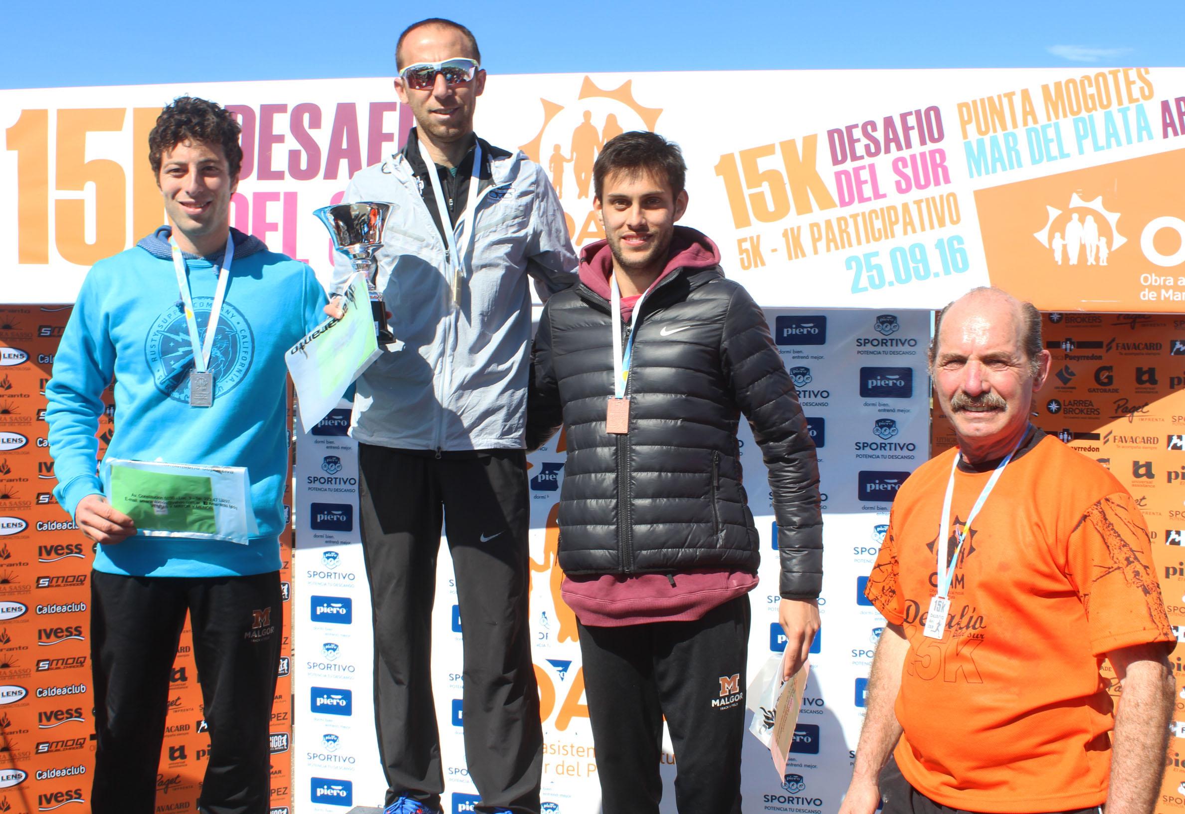 Mariano Mastromarino volvió a competir luego de Río lo y hizo con un triunfo.