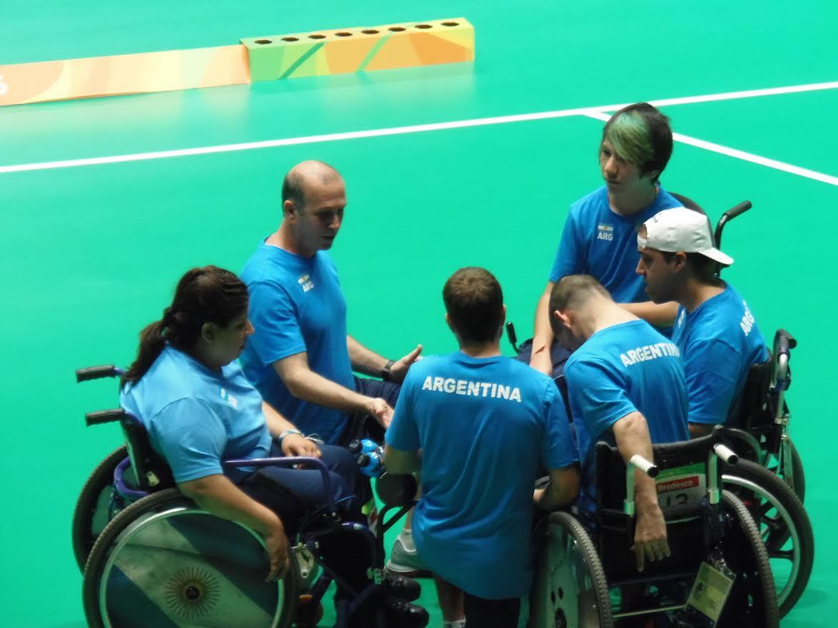 Mauricio Ibarbure y el equipo argentino lograron un cuarto lugar histórico.