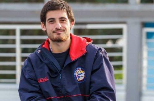 Nahuel Rodríguez, entrenador de la Selección de Mar del Plata. (Foto: Diego Landi)
