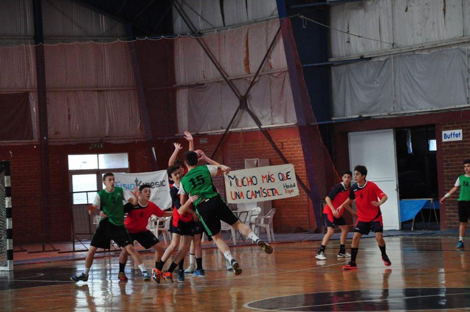 Once Unidos venció hoy a SAG de Villa Ballester. (Foto: Federación Chubutense de Handball)