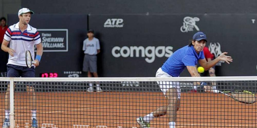El marplatense Horacio Zeballos junto con Peralta han podido avanzar.
