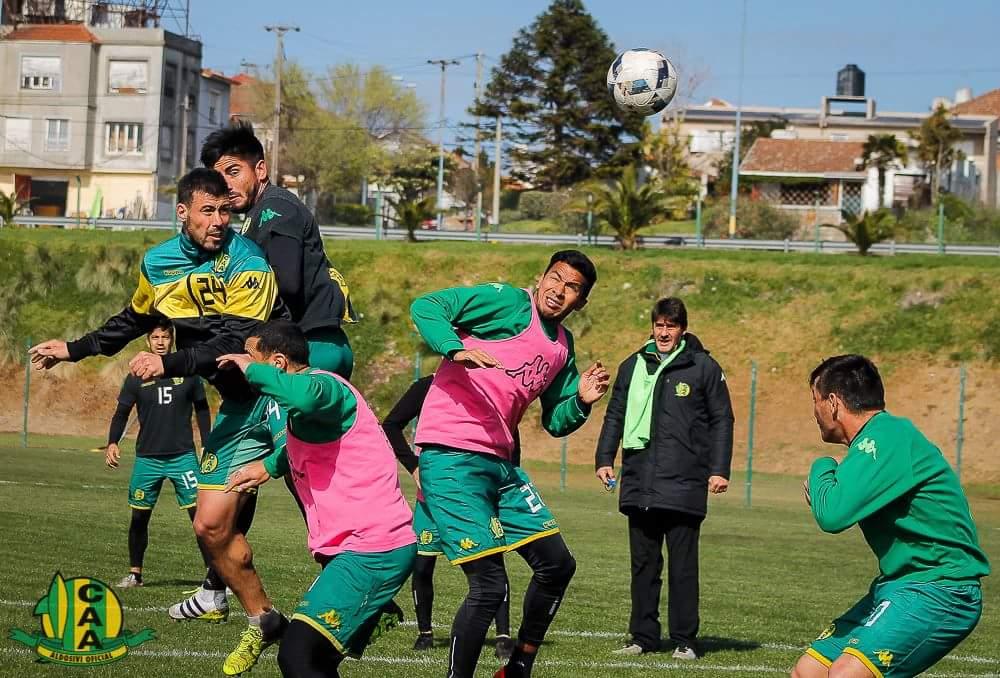 Aldosivi entrenó y tendría el equipo definido. (Foto: Sergio Biale - Club Aldosivi)