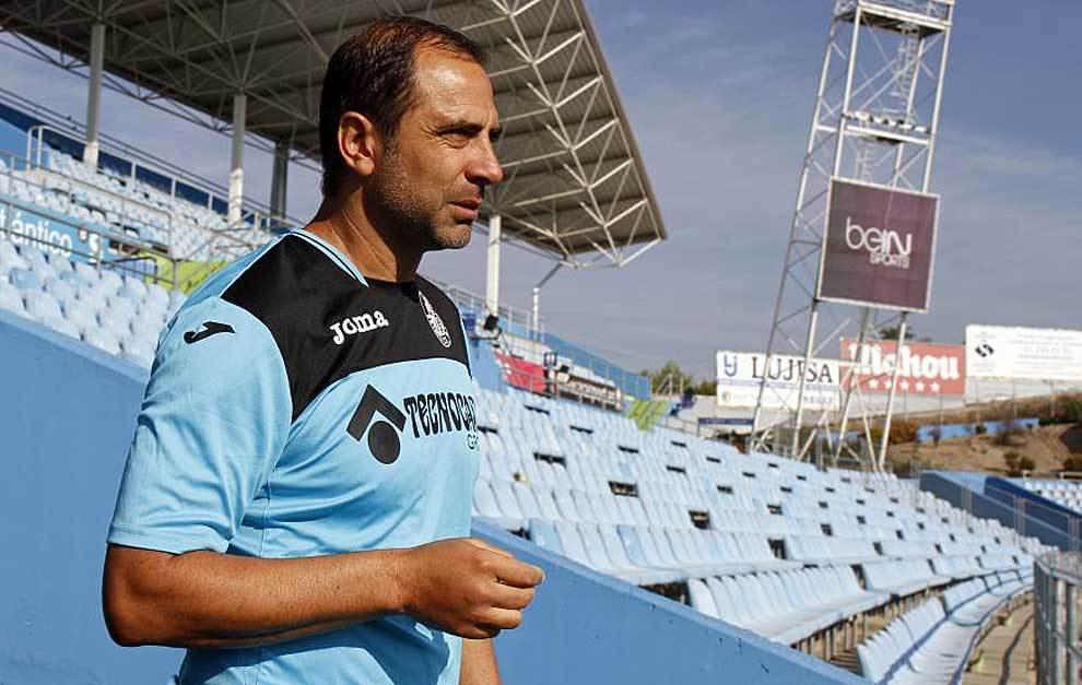 Juan Esnaider fue destituido de su cargo de entrenador en Getafe.