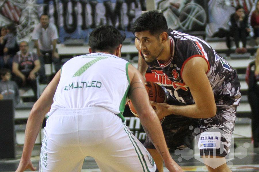 Enzo Ruiz analizó el triunfo de Quilmes (Foto: Carlos De Vita)