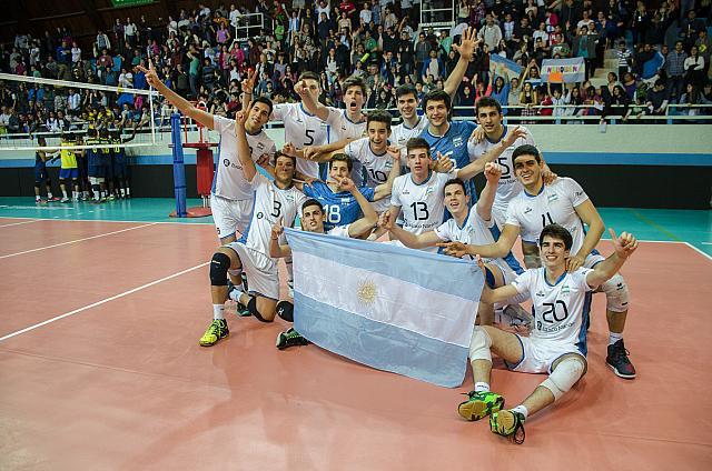 La Selección Nacional sigue ganando en Bariloche. (Foto: Voley Sur)