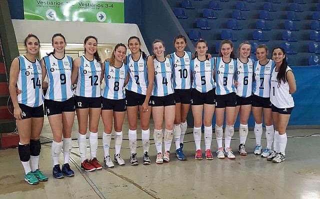 El equipo argentino que debutó en el Sudamericano U20.