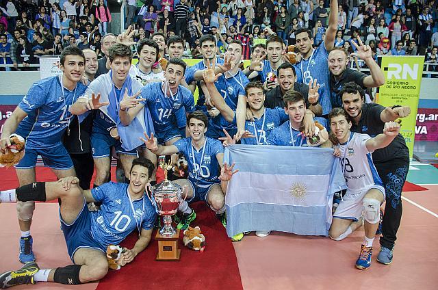 La Selecciòn Argentina logró el título sudamericano en Bariloche.