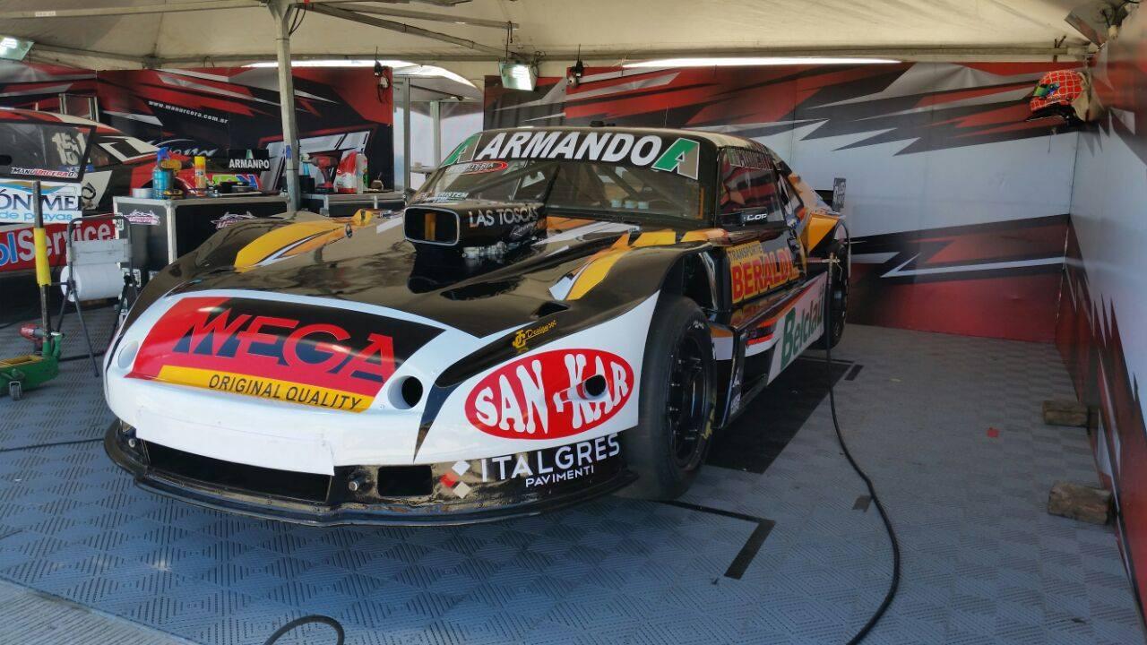 El auto de Christian Ledesma sigue funcionando en buen nivel.
