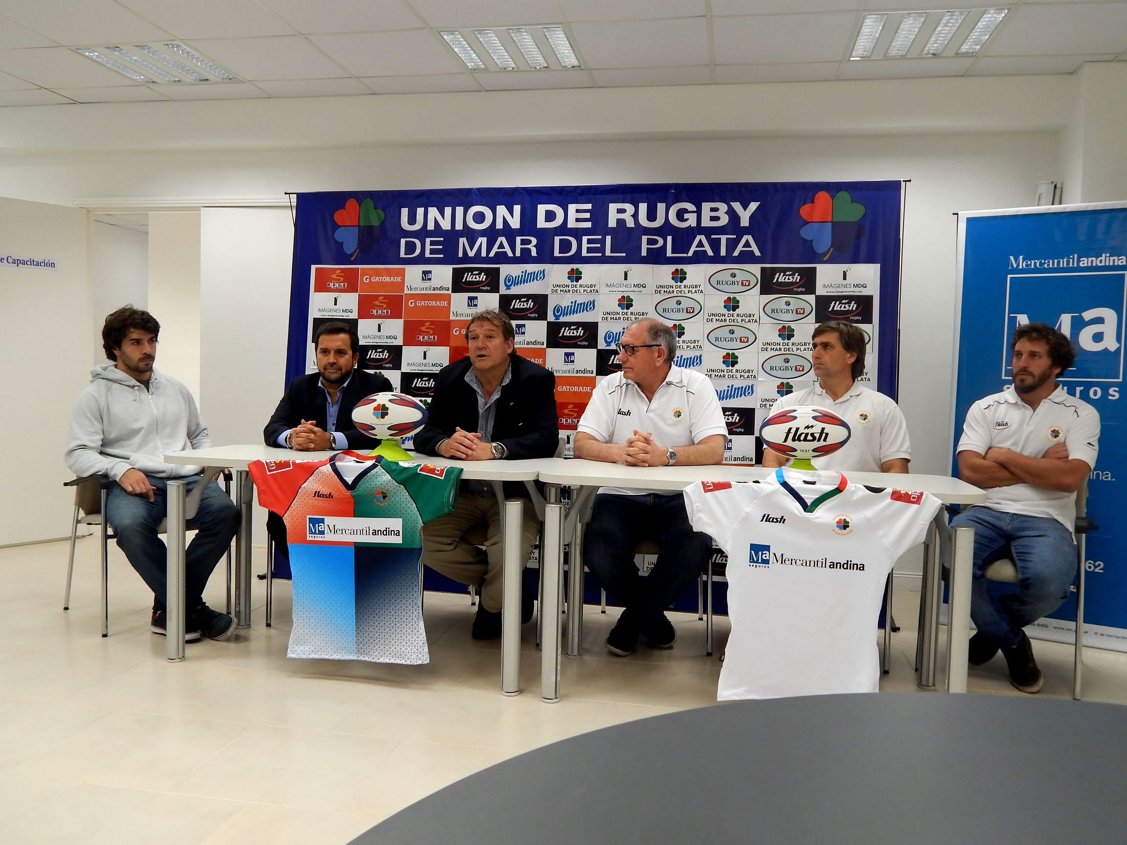 La conferencia realizada esta tarde. (Foto: Prensa URMDP)