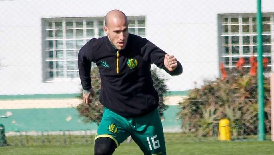 Cristian Llama estaría en condiciones de volver ante Belgrano (Foto: Sergio Biale - Club Aldosivi)