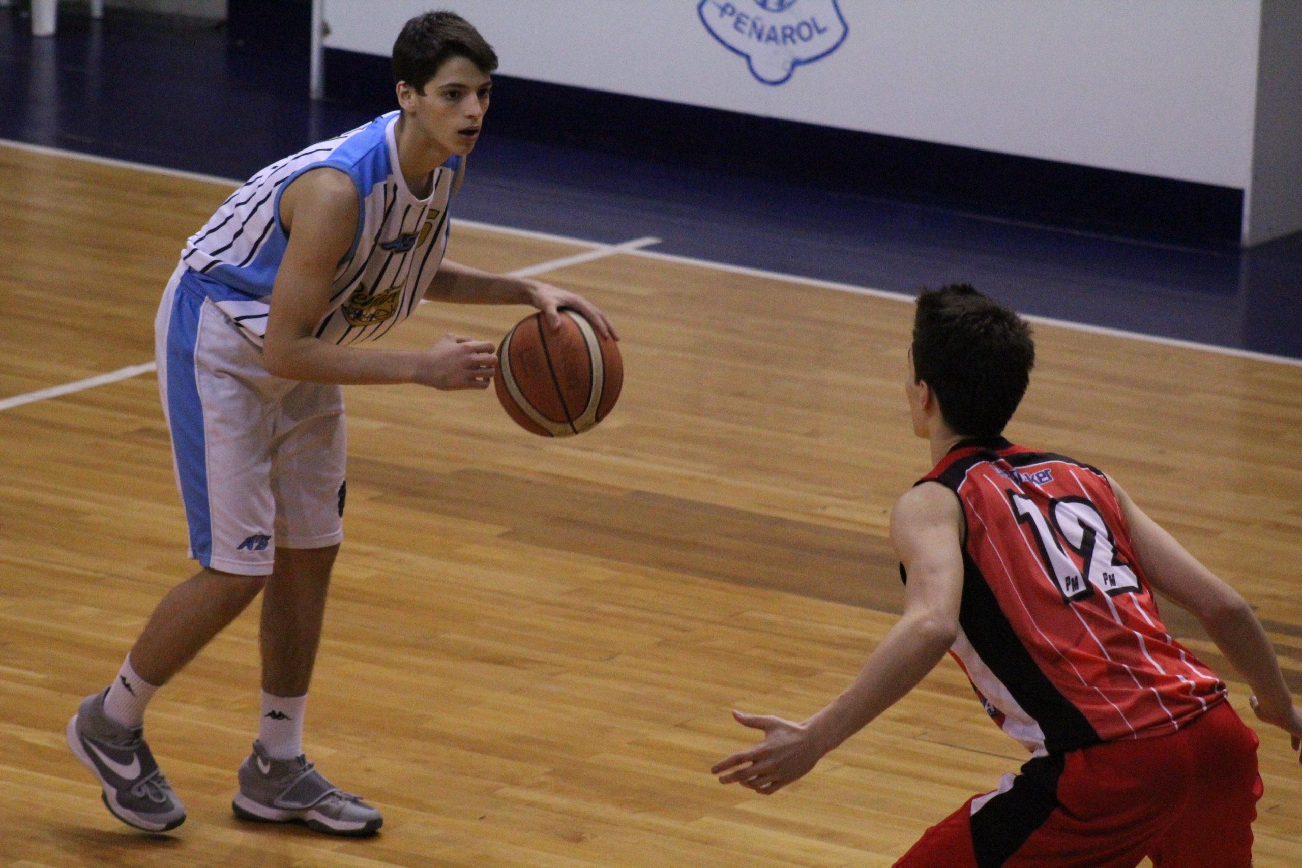 Juan Ignacio Marcos tuvo una gran labor ante Independiente de Neuquén.