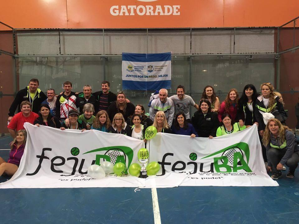 Fejuba se quedó con el Nacional de Ladies y Veteranos.