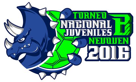 """El logo del Nacional de Juveniles """"B""""."""