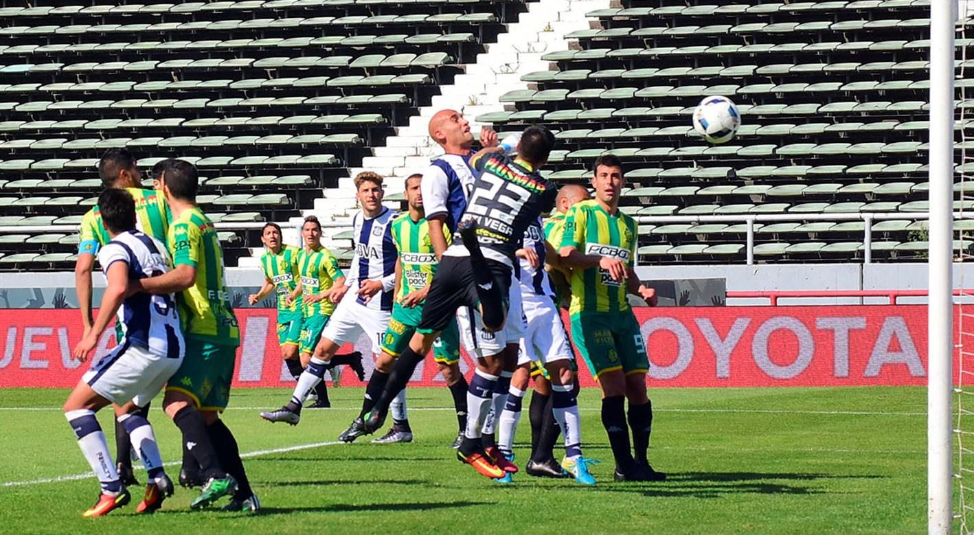 Aldosivi tuvo una buena tarde en el Minella y pudo ganar.
