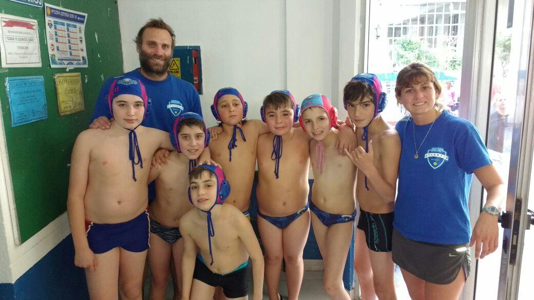 Los chicos Sub-12 de Atlantis que estuvieron en la Copa Suther.
