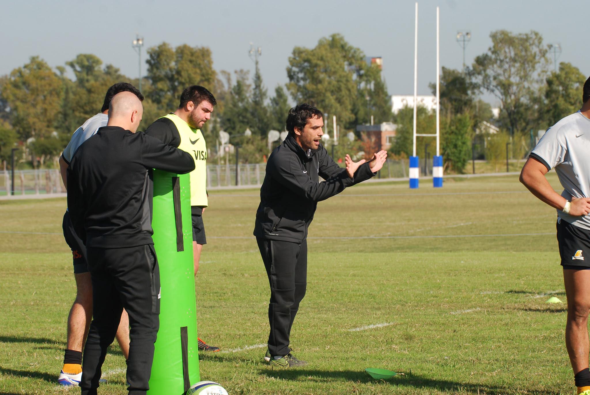 Gaitán brindará toda su experiencia, en donde disputó el Mundial del 2003 con Los Pumas