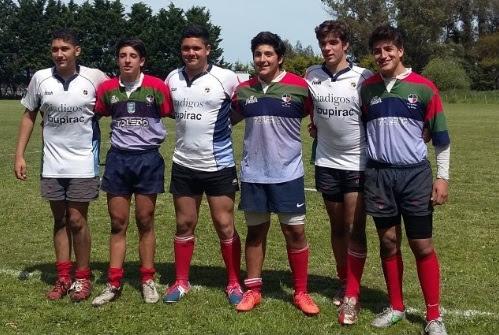 Los jugadores de Pueyrredón que participaron del Trial. (Foto: Prensa URMDP)