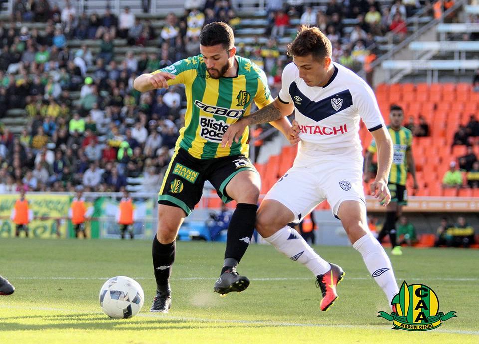 Joel Acosta habló sobre su expulsión en Marca Deportiva Radio (Foto: Sergio Biale - Club Aldosivi)