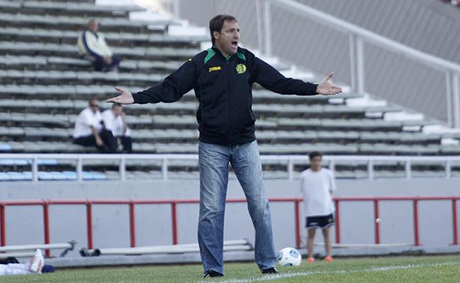 Darío Franco habló sobre el rendimiento de su equipo.