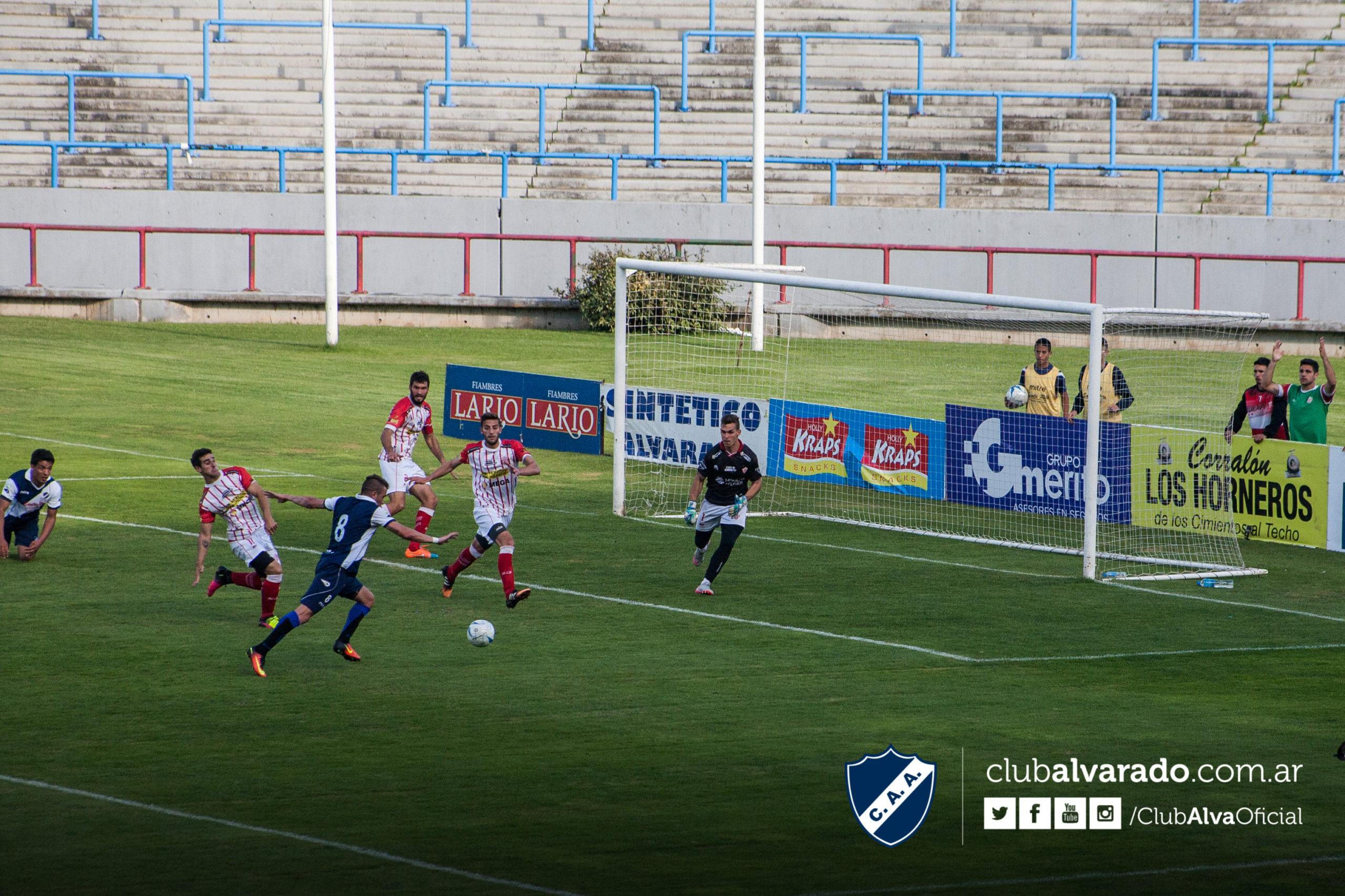 Alvarado sigue ganando en casa y se encamina al número 1 (Foto: Rubén Sánchez - Club Alvarado)
