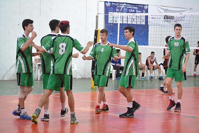 El equipo masculino de Once Unidos fue el mejor ubicado en la Copa Argentina U19. (Foto: FeVA)
