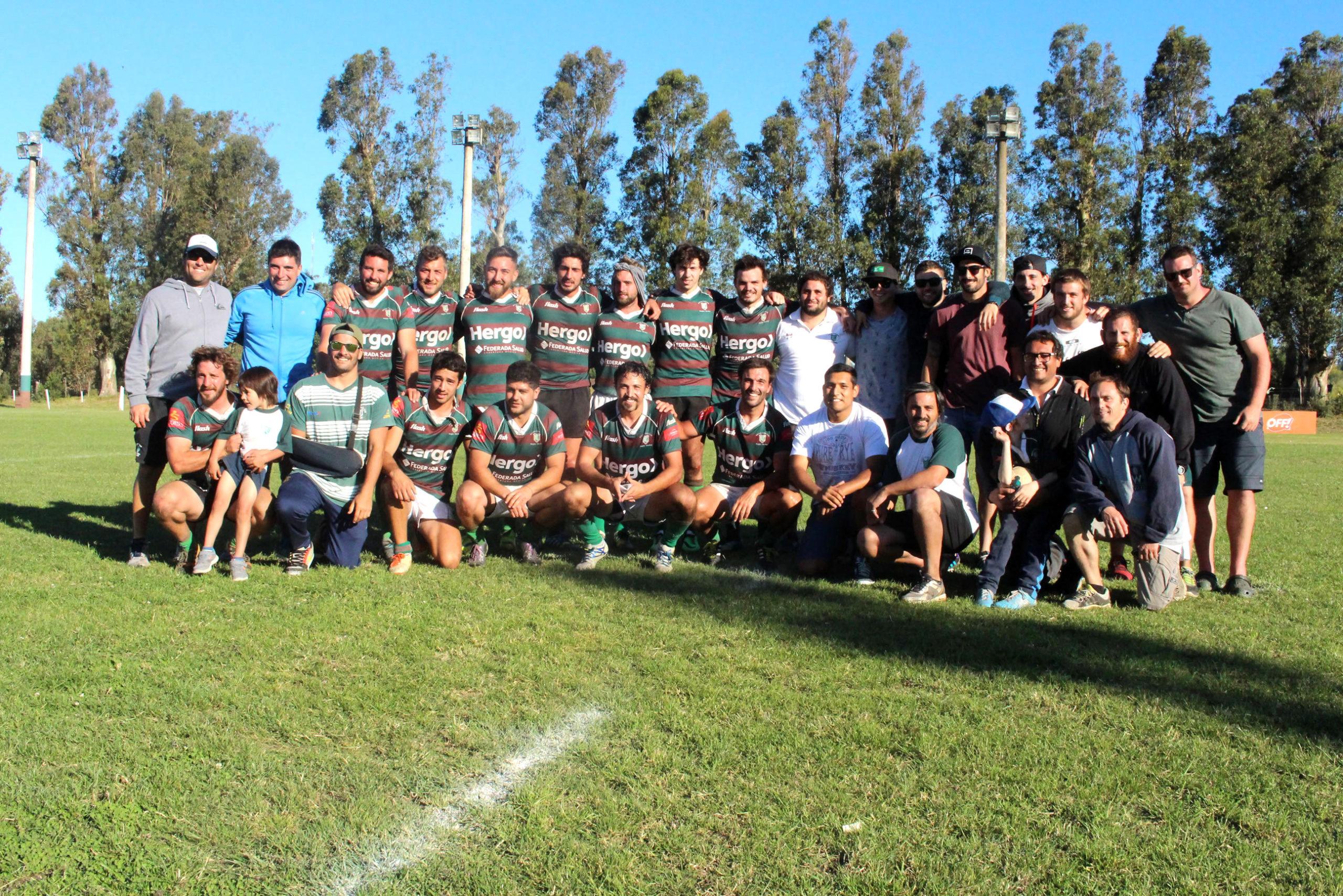 El plantel de Mar del Plata Club que se coronó campeón (Foto: Prensa URMDP)