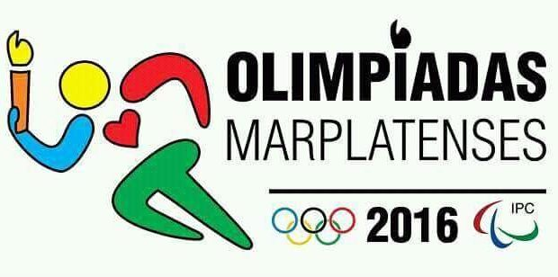 El logo de las Olimpíadas Marplatenses 2016.
