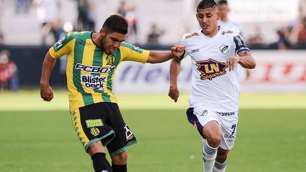 Aldosivi no pudo con Quilmes. (Foto: Telam)