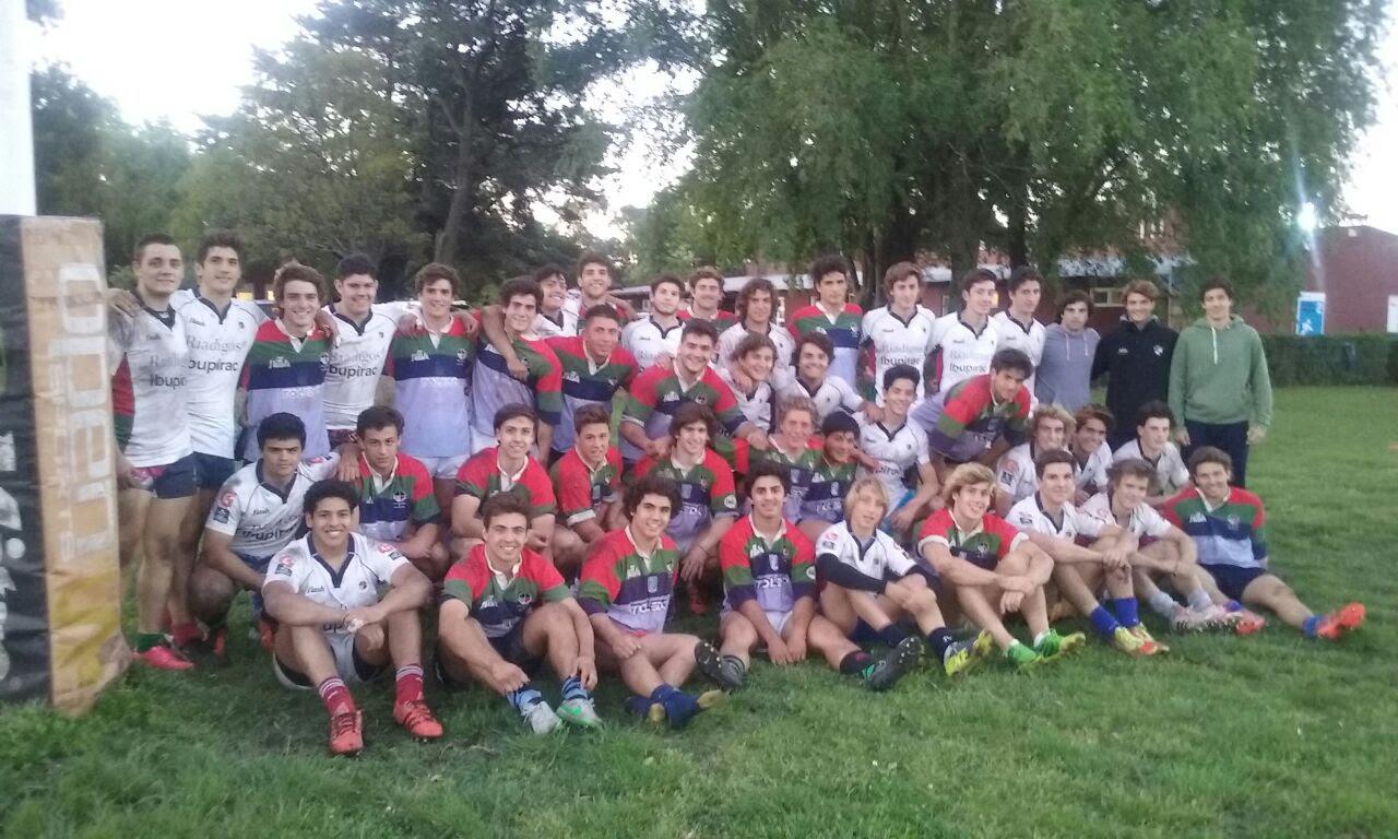 La Selección de la URMDP en la categoría U18. (Foto: Prensa URMDP)