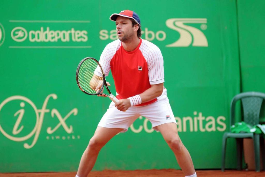 Horacio Zeballos en Bogotá.