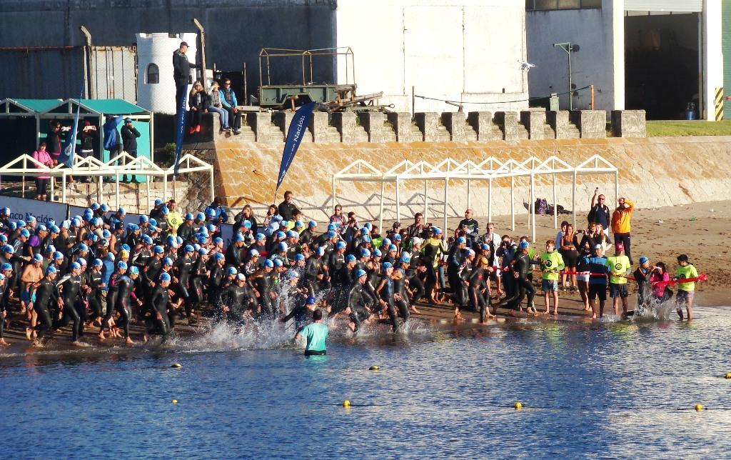El Triatlón Olímpico vuelve a disputarse en nuestra ciudad.