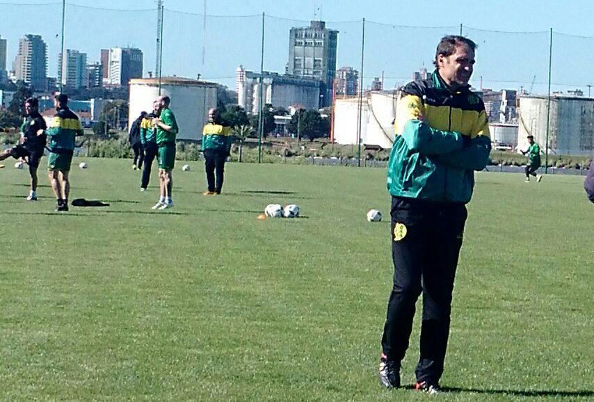 Darío Franco ya tiene en mente una base para el equipo. fo
