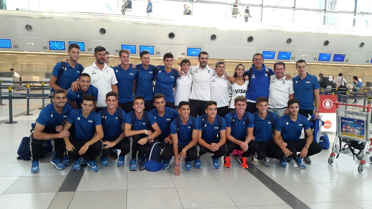 El equipo nacional que partirá hacia India.