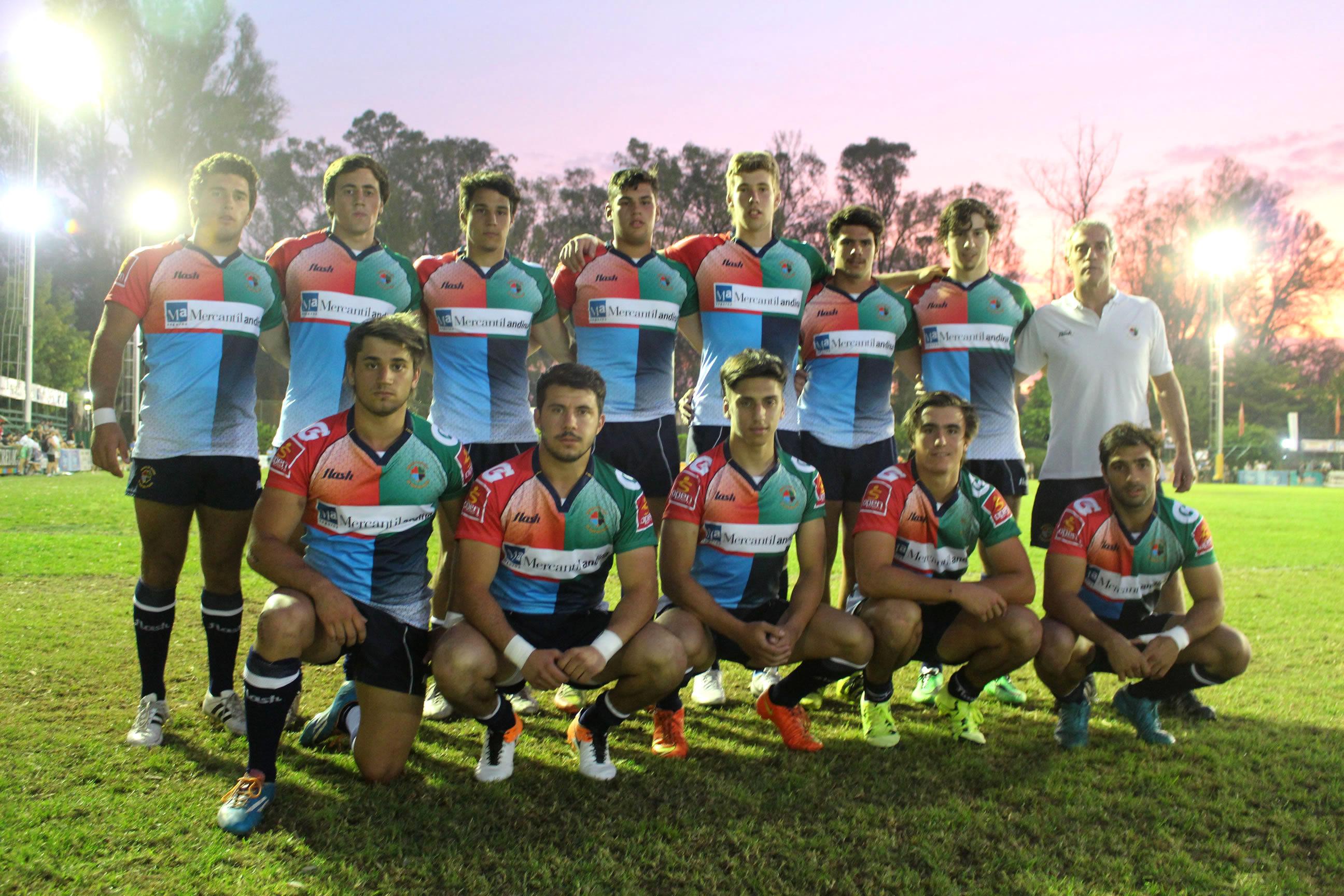 El equipo de Seven de Mar del Plata. (Foto: Prensa URMDP)