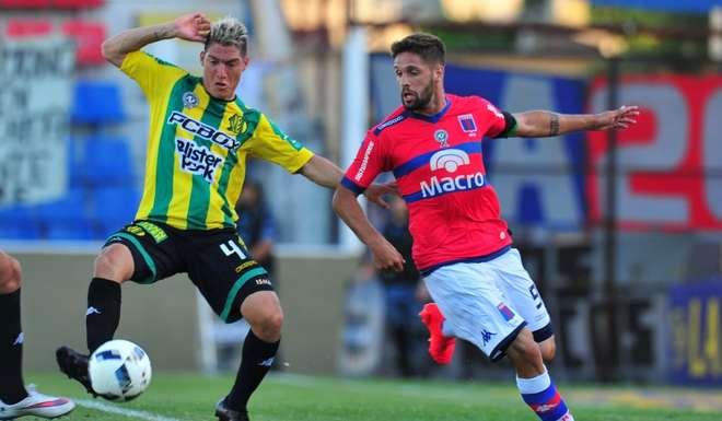 Aldosivi y Tigre empataron en uno. (Foto: InfoBaires)